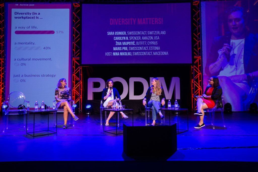 PODIM: The Importance of Diversity